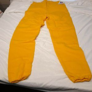 Russell Athletic VTG 90's Yellow NWT NOS Sweatpant